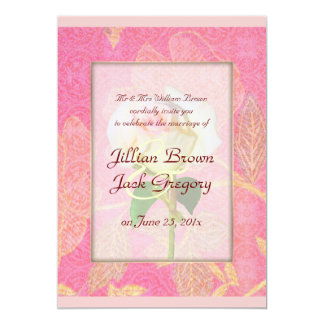 Chinoiserie WEDDING 5x7 Paper Invitation Card