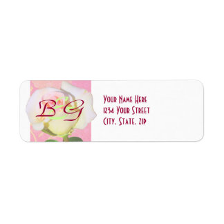 Chinoiserie WEDDING Return Address Label