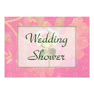 Chinoiserie WEDDING Shower 13 Cm X 18 Cm Invitation Card