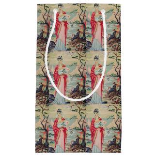 Chinoiserie woman PBN gift bag