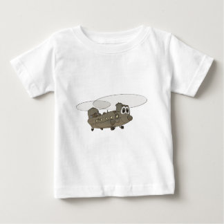 Chinook Helicopter Cartoon Baby T-Shirt