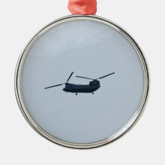 Chinook Helicopter Christmas Ornament