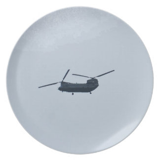 Chinook Helicopter Plate