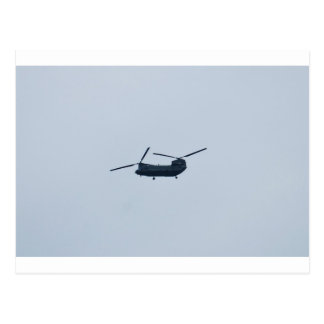 Chinook Helicopter Postcard