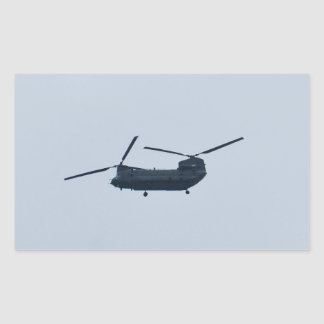 Chinook Helicopter Rectangular Sticker