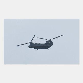 Chinook Helicopter Rectangular Sticker