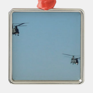 Chinook Helicopters Christmas Ornament