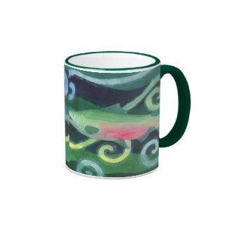 Chinook Salmon Ringer Mug