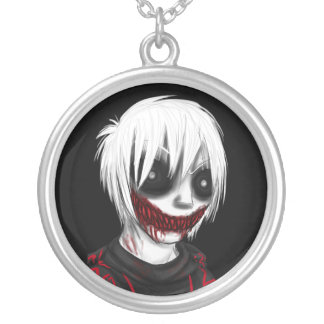 CHINOOK the Zombie Round Pendant Necklace