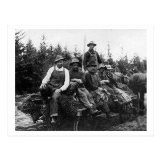 Chinook, WALogging CrewChinook, WA Postcard