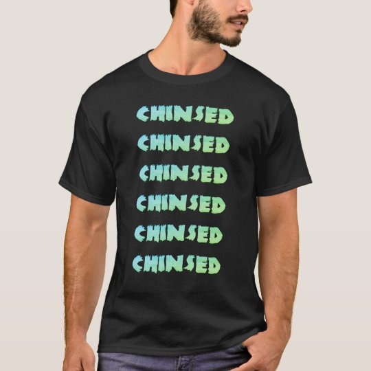 Chinsed green T-Shirt