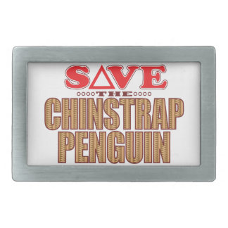 Chinstrap Penguin Save Belt Buckle