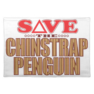 Chinstrap Penguin Save Placemat