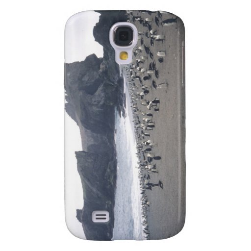 Chinstrap Penguins on Seal Island Samsung Galaxy S4 Cases