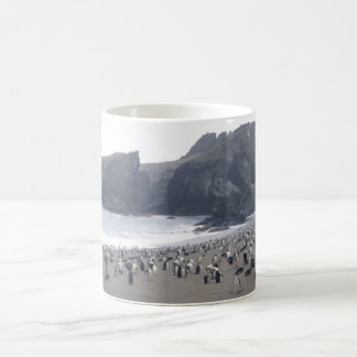 Chinstrap Penguins on Seal Island Coffee Mug