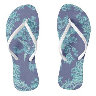 Chintz Flip Flops