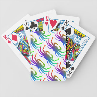 Chionoecetes Opilio Crab Silhouette Card Deck