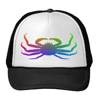 Chionoecetes Opilio Crab Silhouette Mesh Hat