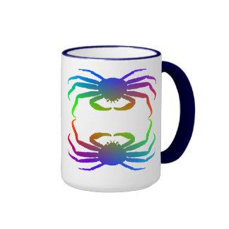 Chionoecetes Opilio Crab Silhouette Coffee Mug