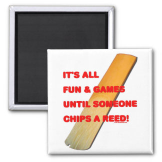 Chip A Reed Square Magnet