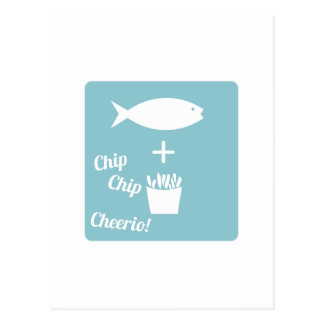 Chip Cheerio Post Card