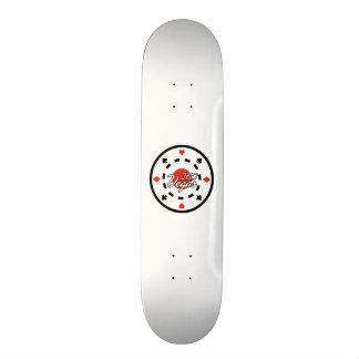 Chip Logo Skateboard