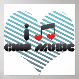 Chip Music fan Print