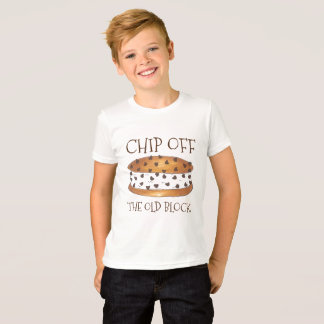Chip off the Old Block Chipwich Ice Cream Cookie T T-Shirt