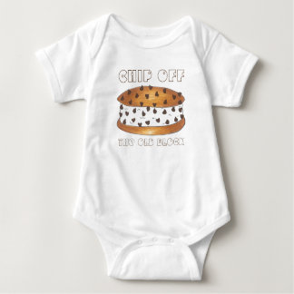 Chip off the Old Block Ice Cream Cookie Baby Suit Baby Bodysuit