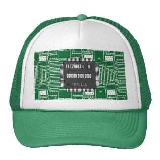 Chip On Printed Circuit Board With Your Name Cap