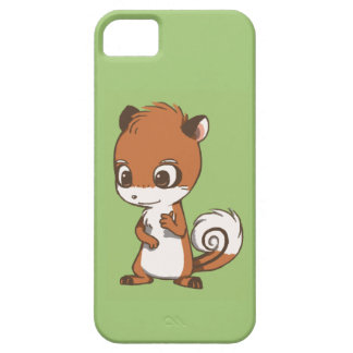 Chipmunk Character Green iPhone Case iPhone 5 Cover