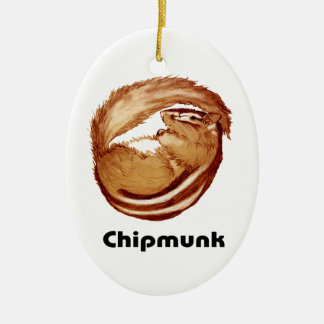 Chipmunk_Christmas Tree Ornament