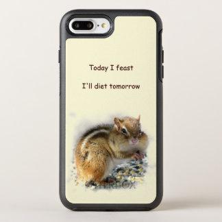 Chipmunk Feasting Dieting Animal OtterBox Symmetry iPhone 8 Plus/7 Plus Case