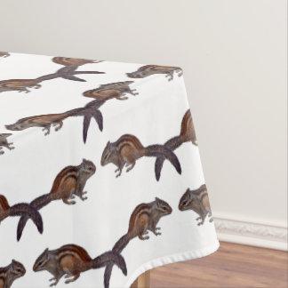 Chipmunk Frenzy Tablecloth (choose colour)