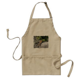 Chipmunk in the Forest Apron