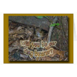 Chipmunk in Woods Coordinating Items Greeting Card