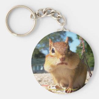 Chipmunk Keychain
