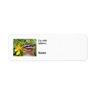 Chipmunk ,  Label Return Address Label