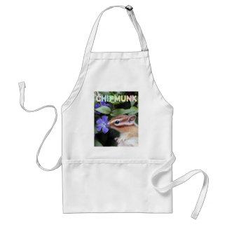 Chipmunk photo (30-14) standard apron
