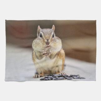 Chipmunk Picture Kitchen Towels
