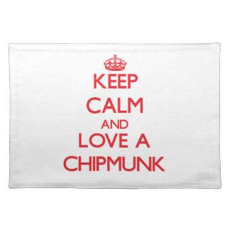 Chipmunk Place Mat