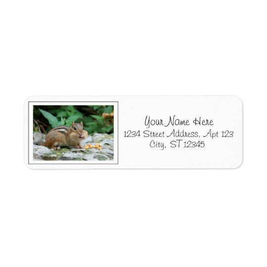 Chipmunk Return Address Labels