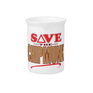 Chipmunk Save Pitcher