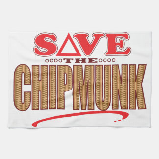 Chipmunk Save Towel