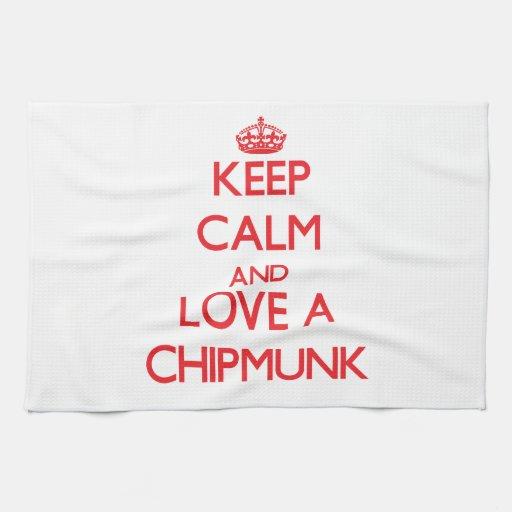 Chipmunk Kitchen Towel