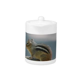 Chipmunk Teapot