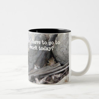Chipmunk Two-Tone Mug