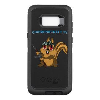 ChipmunkCraft Otterbox Galaxy S8+ Defender, Black OtterBox Defender Samsung Galaxy S8+ Case