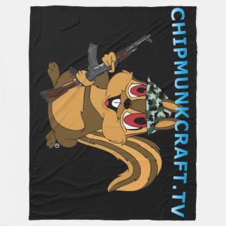 ChipmunkCraft v2 Large Fleece Blanket