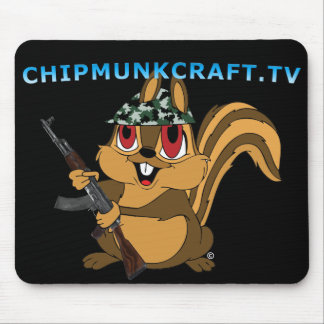 ChipmunkCraft v2 Mouse Pad